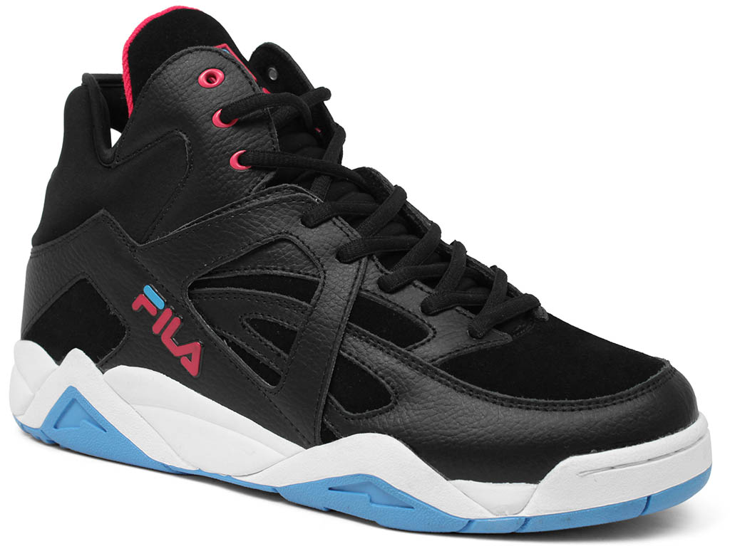 Fila Cage Black Pink Blue Sole Collector