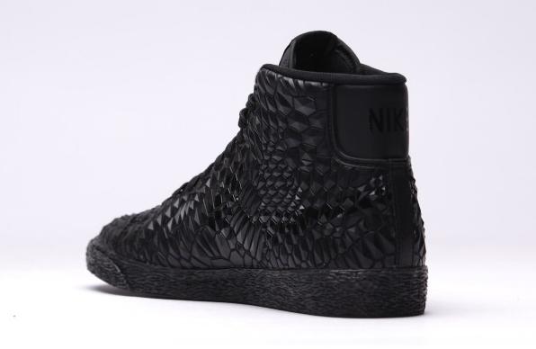 Nike WMNS Blazer Mid DMB Color: Black/Black-Black Style #: 807455-001