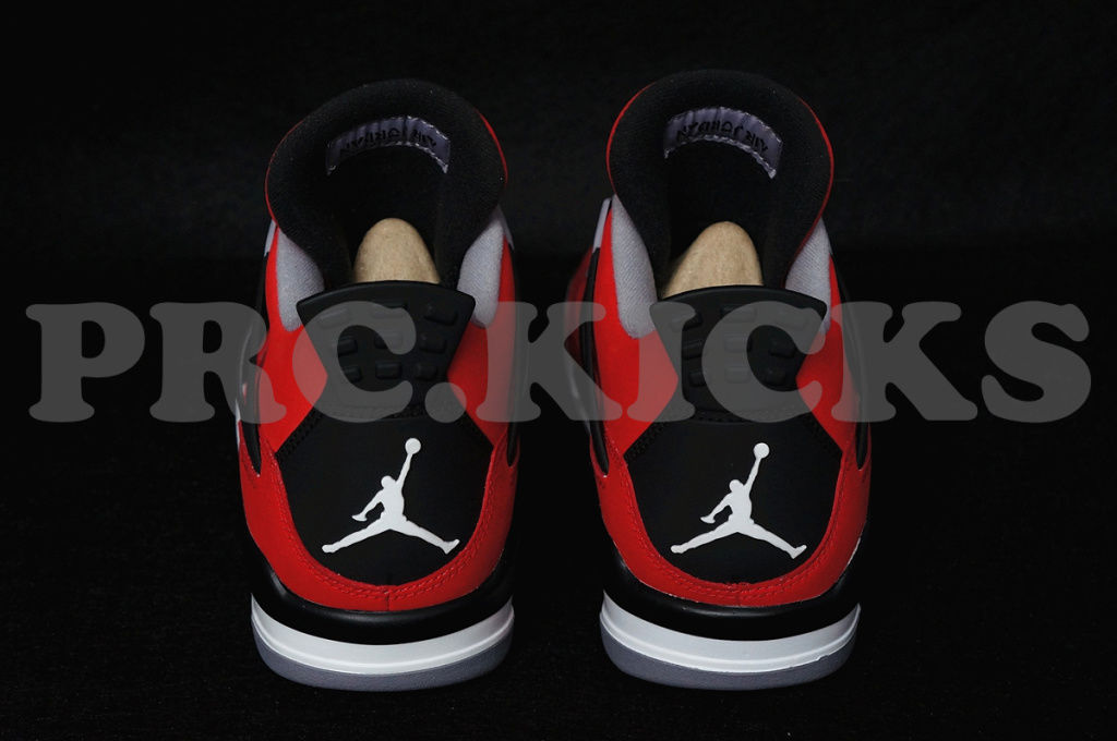 Air Jordan IV 4 Fire Red White Black 308497-603 (5)