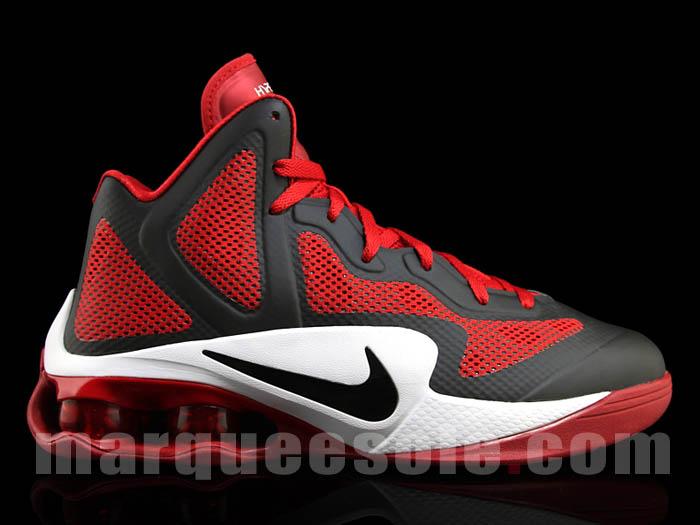 discount 93b2d 8d765 Nike Air Shox Hyperballer Black Varsity Red White 454168-004