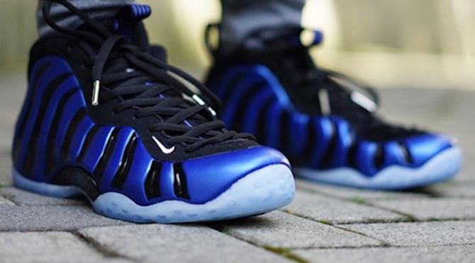 385e9ce04902e An On-Feet Look at the  Sharpie  Nike Air Foamposite One