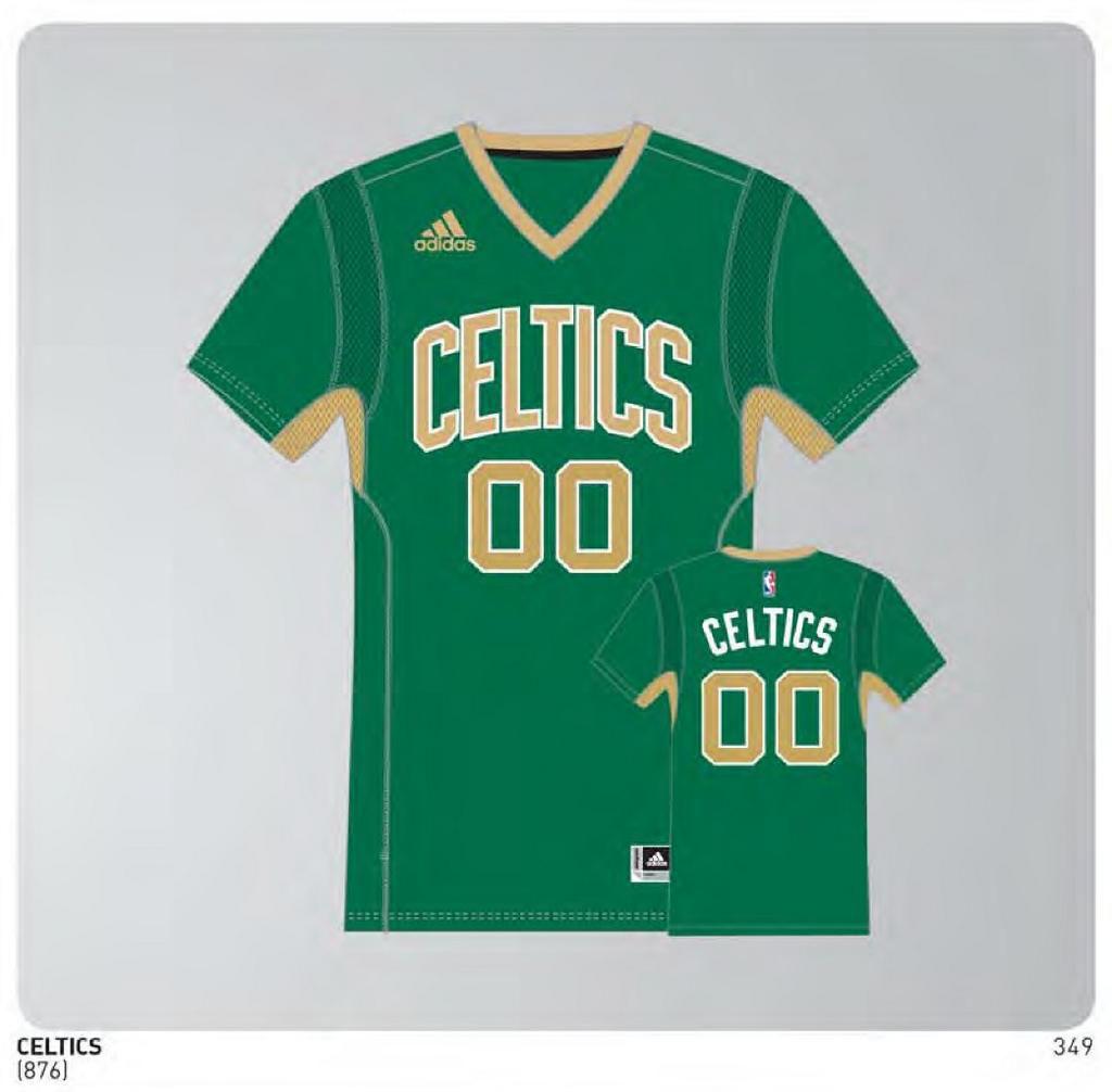 25320afa456 Boston Celtics 2014-2015 St. Patrick s Day Uniform