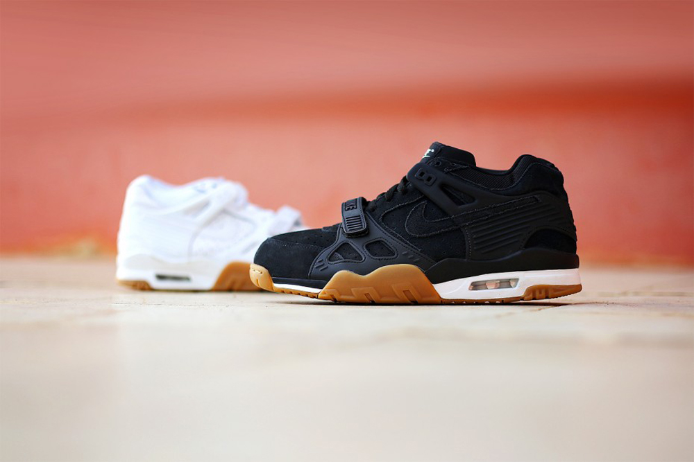 nike air max nero suefe gum sole