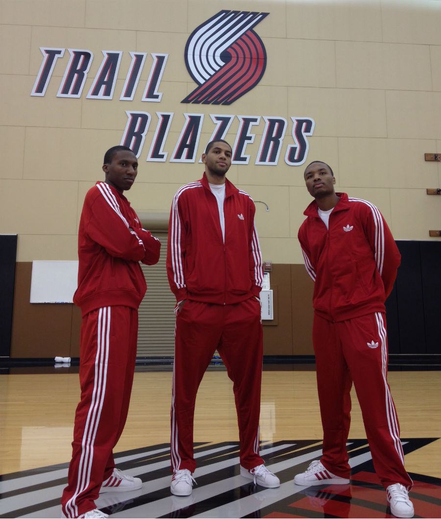 adidas Basketball Celebrates National Tracksuit Day // Damian Lillard, Nolan Smith, Nicolas Batum