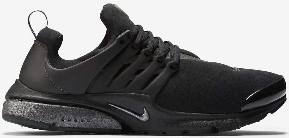 Nike Air Presto Black Tech Fleece