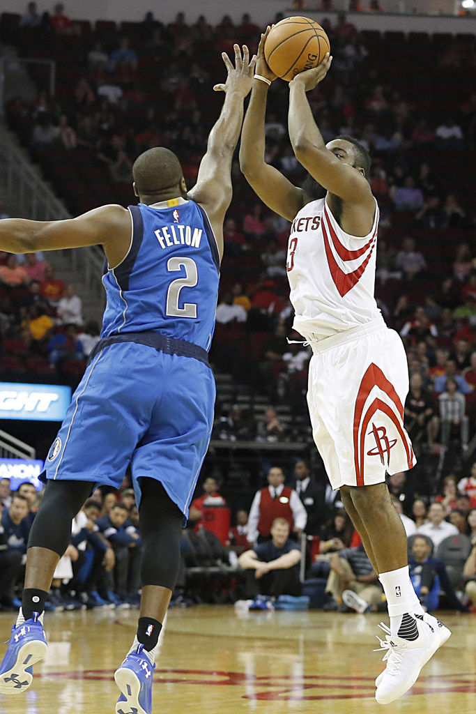 save off 7fe6e a1467 James Harden Wears All-White adidas Crazylight Boost 2015 (1)