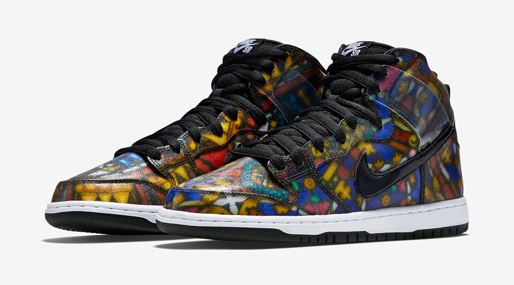 Stained Glass Nike SB Dunk Concepts
