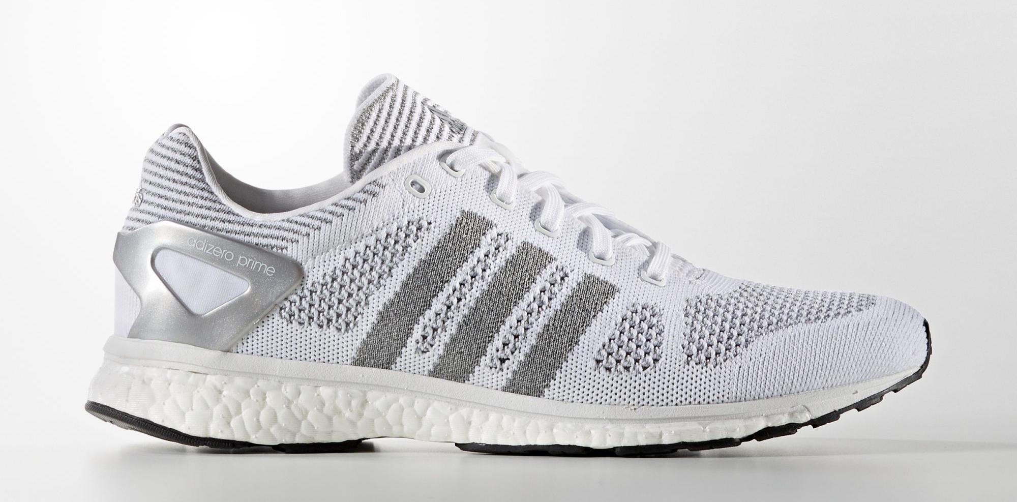 Adidas Adizero Primeknit White Reflective