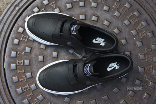 The velcro-strap Nike SB Stefan Janoski is currently making it's way to Nike  SB retailers across the country.