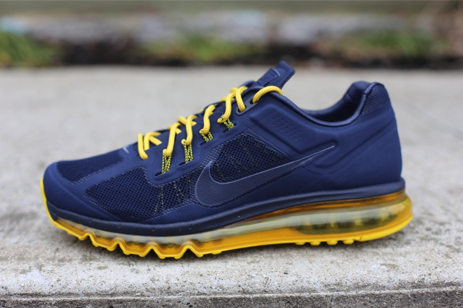 check out 3d6f6 3841e Nike Air Max 2013 EXT - Obsidian Vivid Sulfur