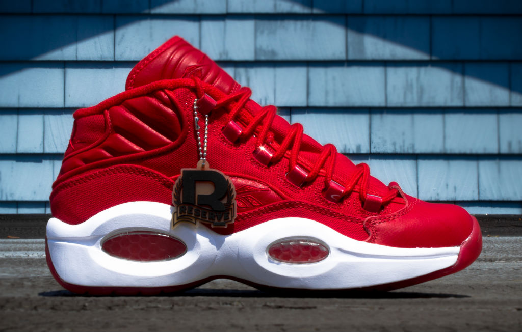 Reebok Question Canvas Pack Red