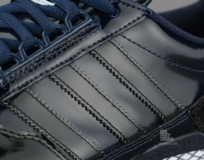 adidas Originals 84-Lab by Kazuki Kuraishi ZXZ ADV patent leather detail