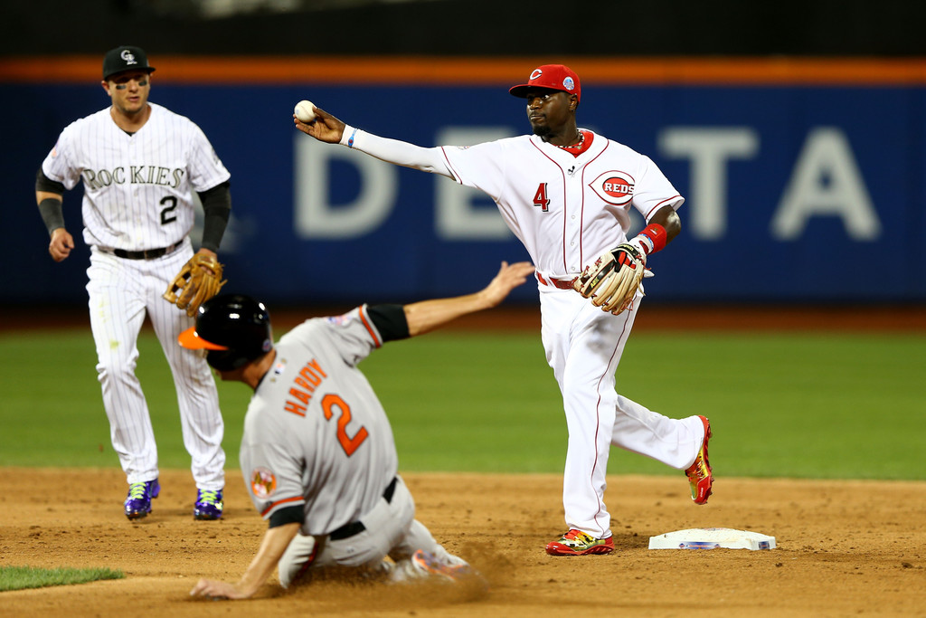 MLB Watch Best of 2013 Brandon Phillips Under Armour Spine Highlight All Star