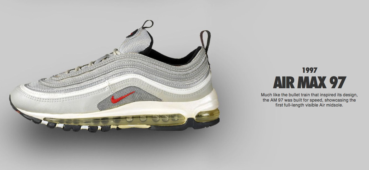 early prototypes of Air and Air Max