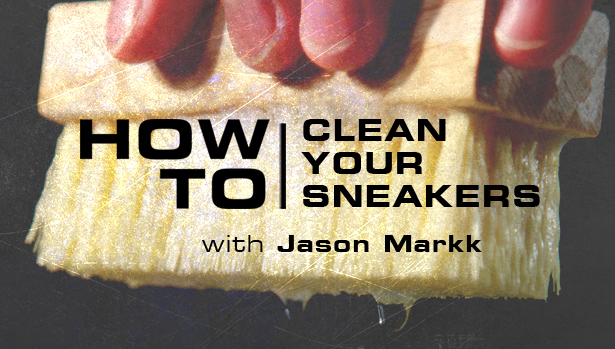 How to clean Flyknit material with Jason Markk