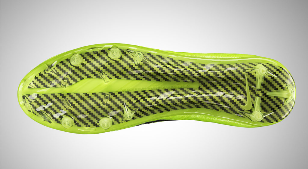 Nike Vapor Ultimate Flyknit Cleat Volt (4)