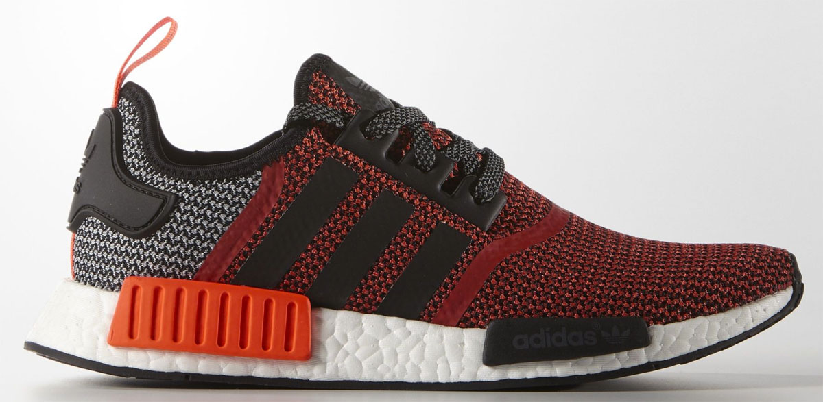 adidas NMD Grey/Red