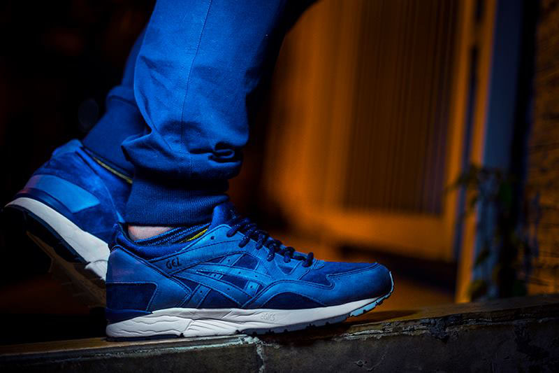 onealz wearing 'The Gemini' Commonwealth x ASICS GEL-Lyte V