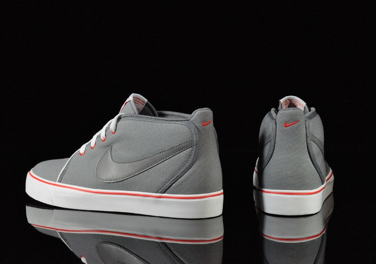 Nike Toki ND Canvas Cool Grey Cool Grey Chilling Red White 385444-003