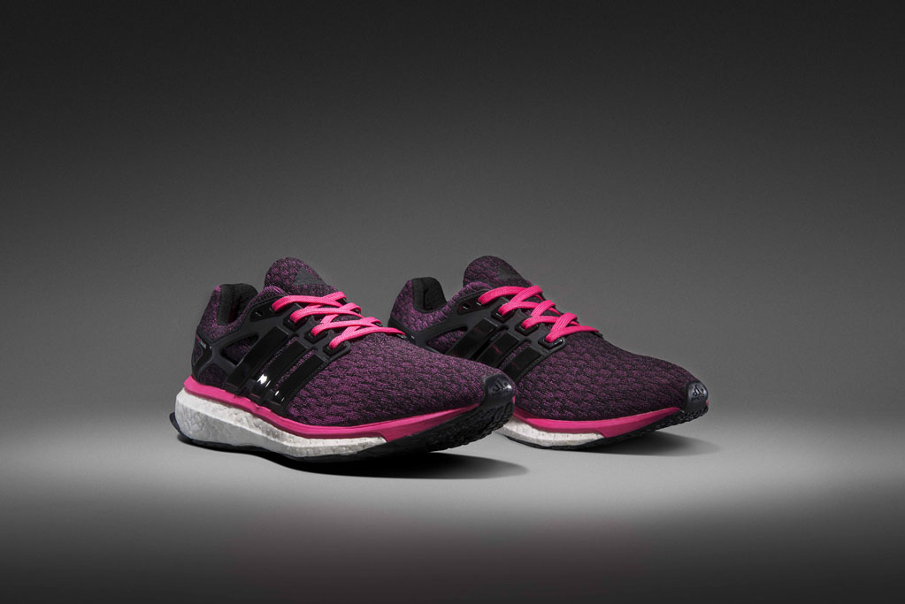 adidas energy boost black and pink