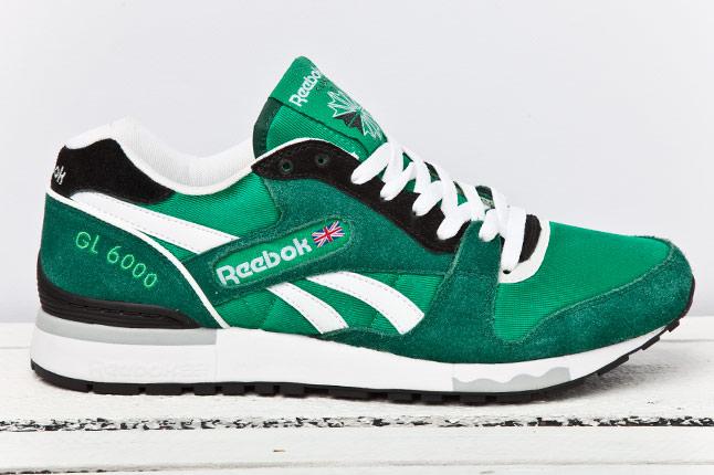 Reebok GL6000 - Green/Black/White