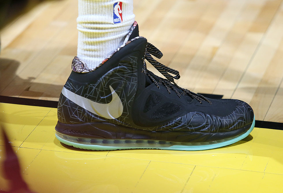 LaMarcus Aldridge wearing Nike Air Max Hyperposite All-Star PE