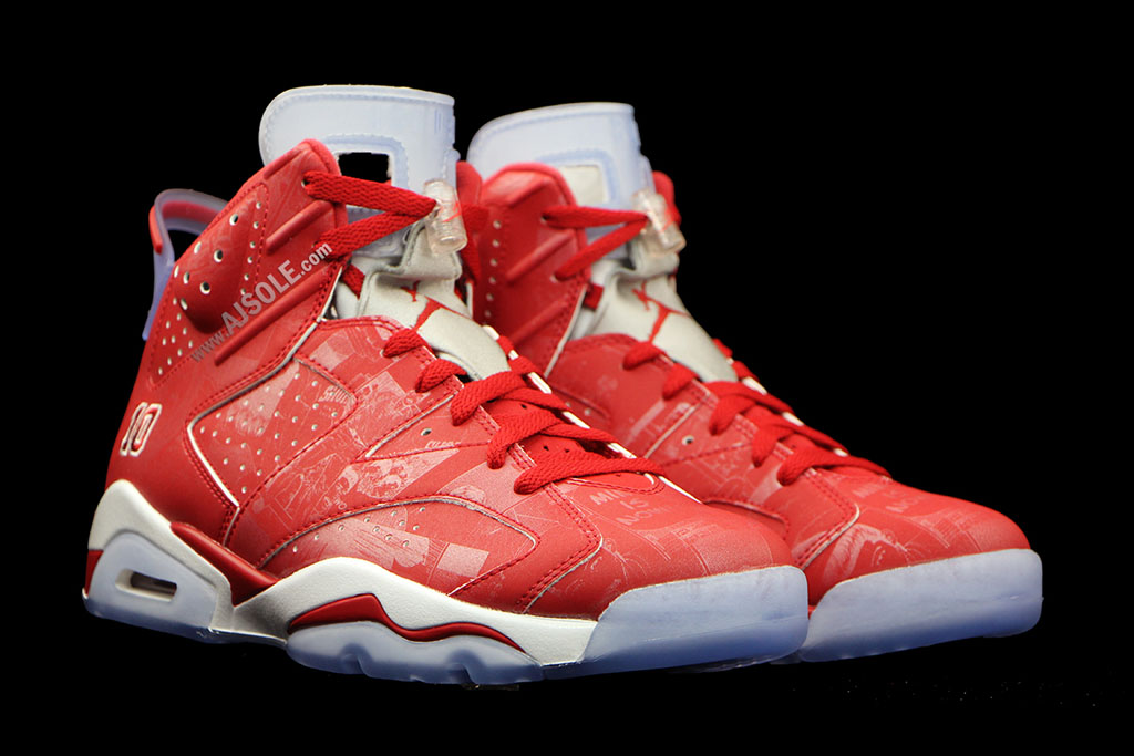 637666ae7c3cb2 Air Jordan VI 6 Retro Slam Dunk Manga 717302-600 (2)