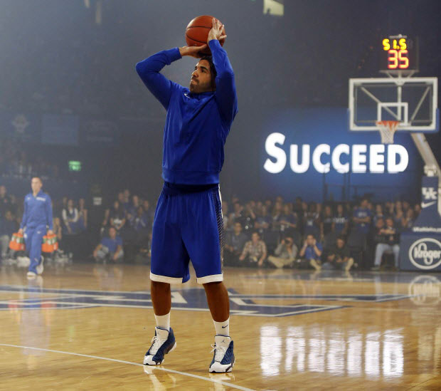 Drake wearing Air Jordan XIII 13 Flint