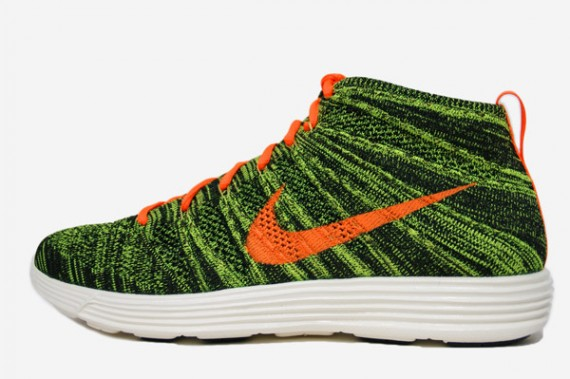 on sale d1ba6 145fc Stay tuned to Sole Collector for further details on the BlackTotal Orange-Sequoia  Lunar Flyknit Chukka by Nike Sportswear.