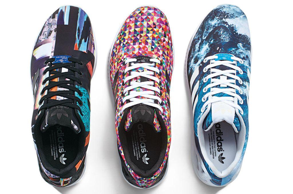 brand new c49e0 e210c adidas Originals ZX Flux Photo Print Pack (1)