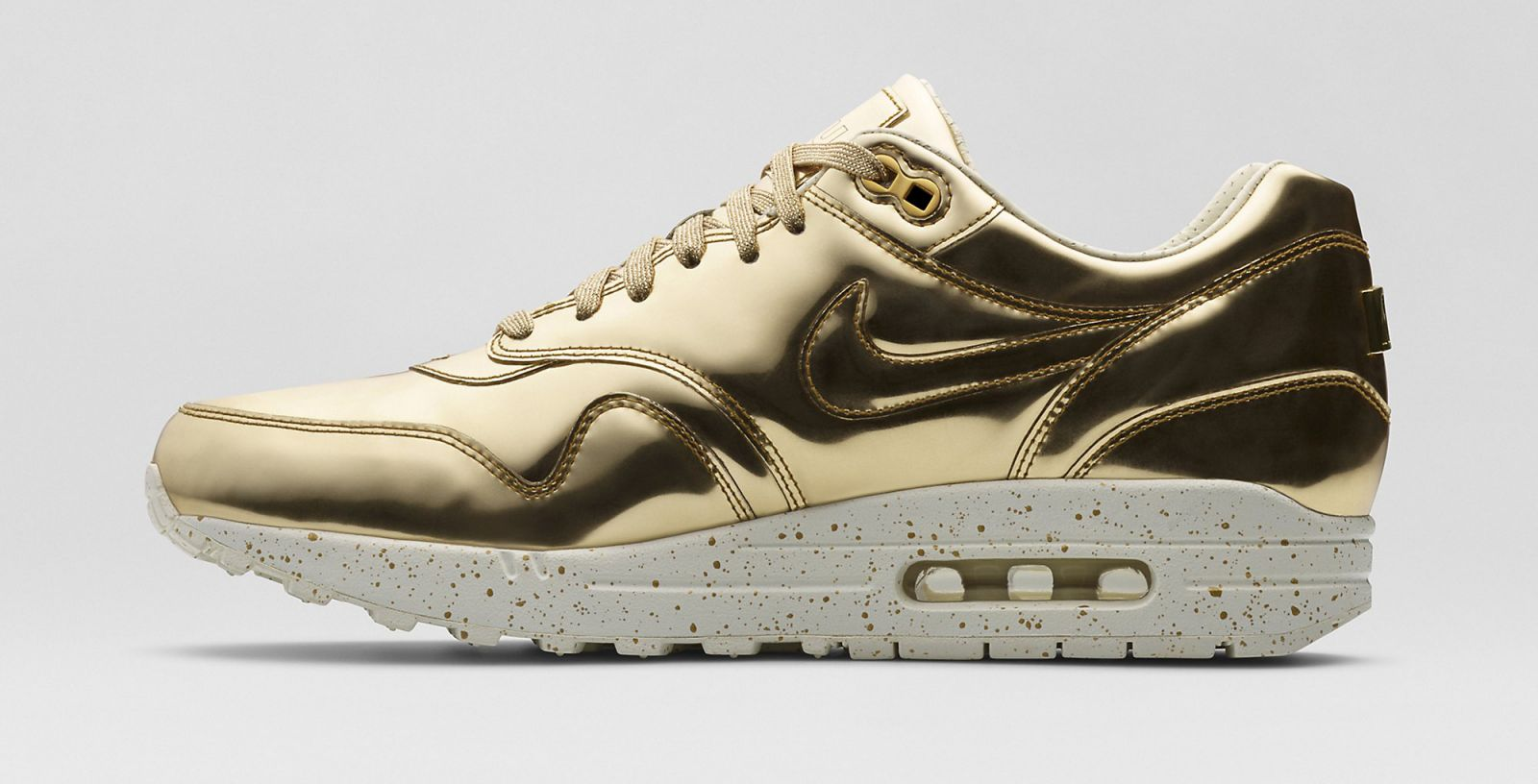 detailed look 483e5 5d89e ... promo code nike air max 1 sp liquid gold color metallc gold sail  metallic gold style closeout 616170 700 ...
