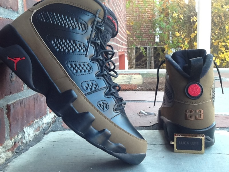 promo code 5378c 71e39 Release Recap // Air Jordan 9 Retro - Olive | Sole Collector
