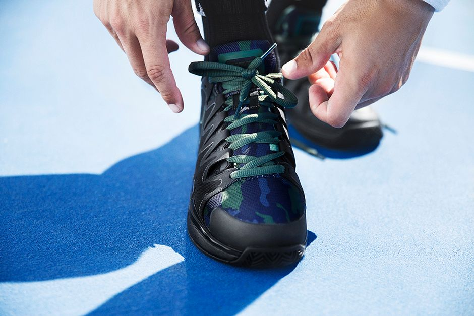 NikeCourt Vapor Tour 9 Camo Images via Nike