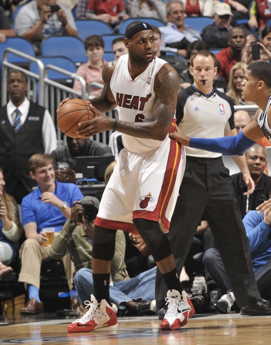 e9b6cae29c2465 All Of The Times LeBron James Wore The Nike LeBron 11 This Season ...
