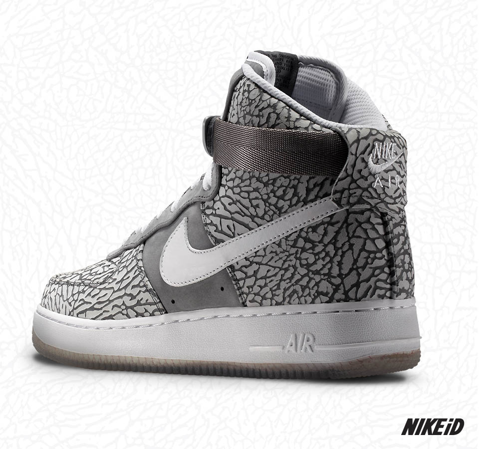 Print February Elephant 1st 1 Available Nikeid Option Force Air 3lF1KJcT