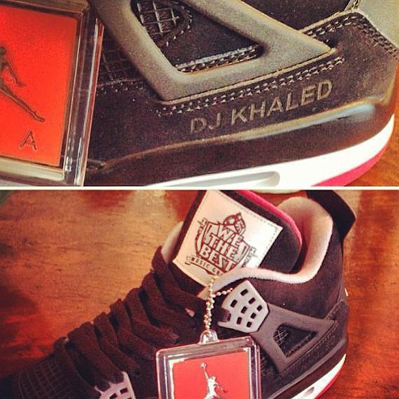 official photos 83492 d485b DJ Khaled x Air Jordan 4 Retro -