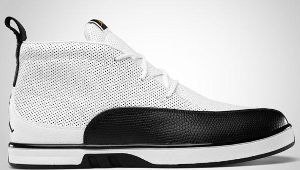 Jordan XII Auto Clave White/Black-Taxi