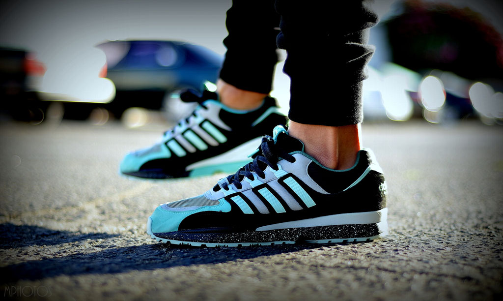 moy in the Sneaker Freaker x adidas Originals Torsion Integral S