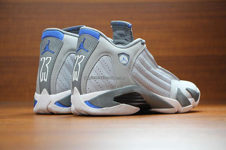 b98d79aaa9f0ad Air Jordan XIV 14 Sport Blue 487471-004 (4)