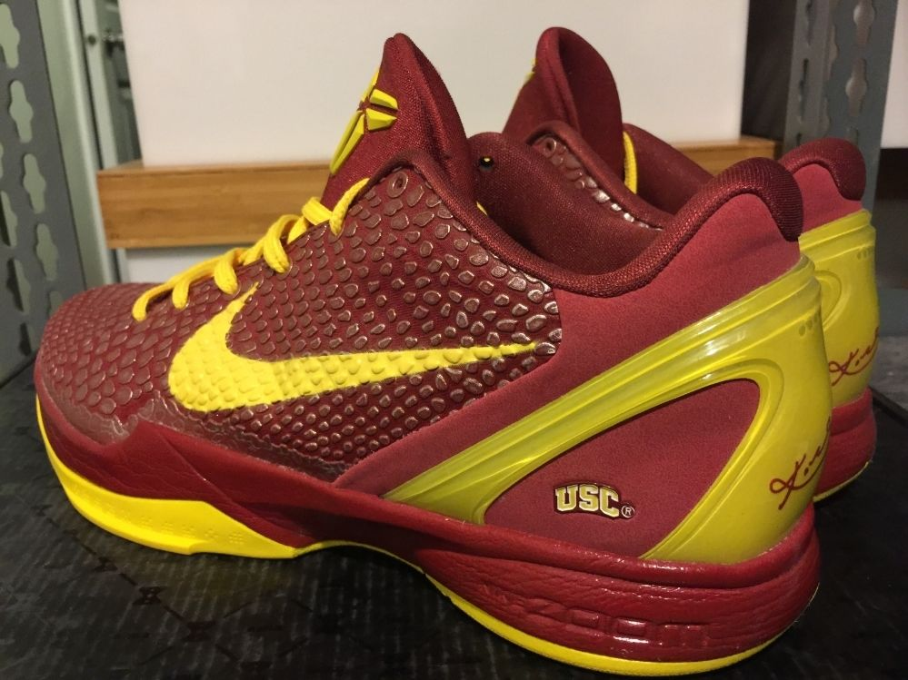 huge discount be96e 0316a Remember When USC Got Nike Kobe Exclusives