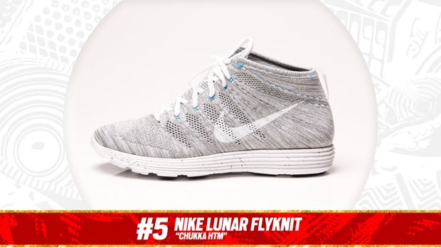 Complex Best of 2013: Nike Lunar Flyknit Chukka is the #5 Sneaker of the Year