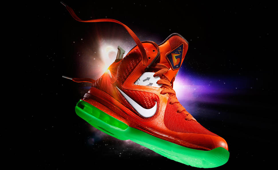 Nike LeBron 9 All-Star Galaxy LeBron James Shoes