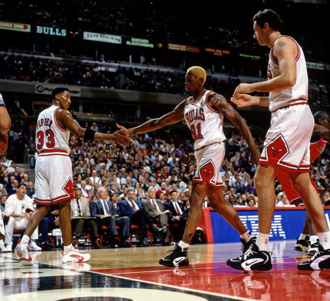 Retro Classic // Dennis & Scottie In The Nike Air Way Up | Sole Collector