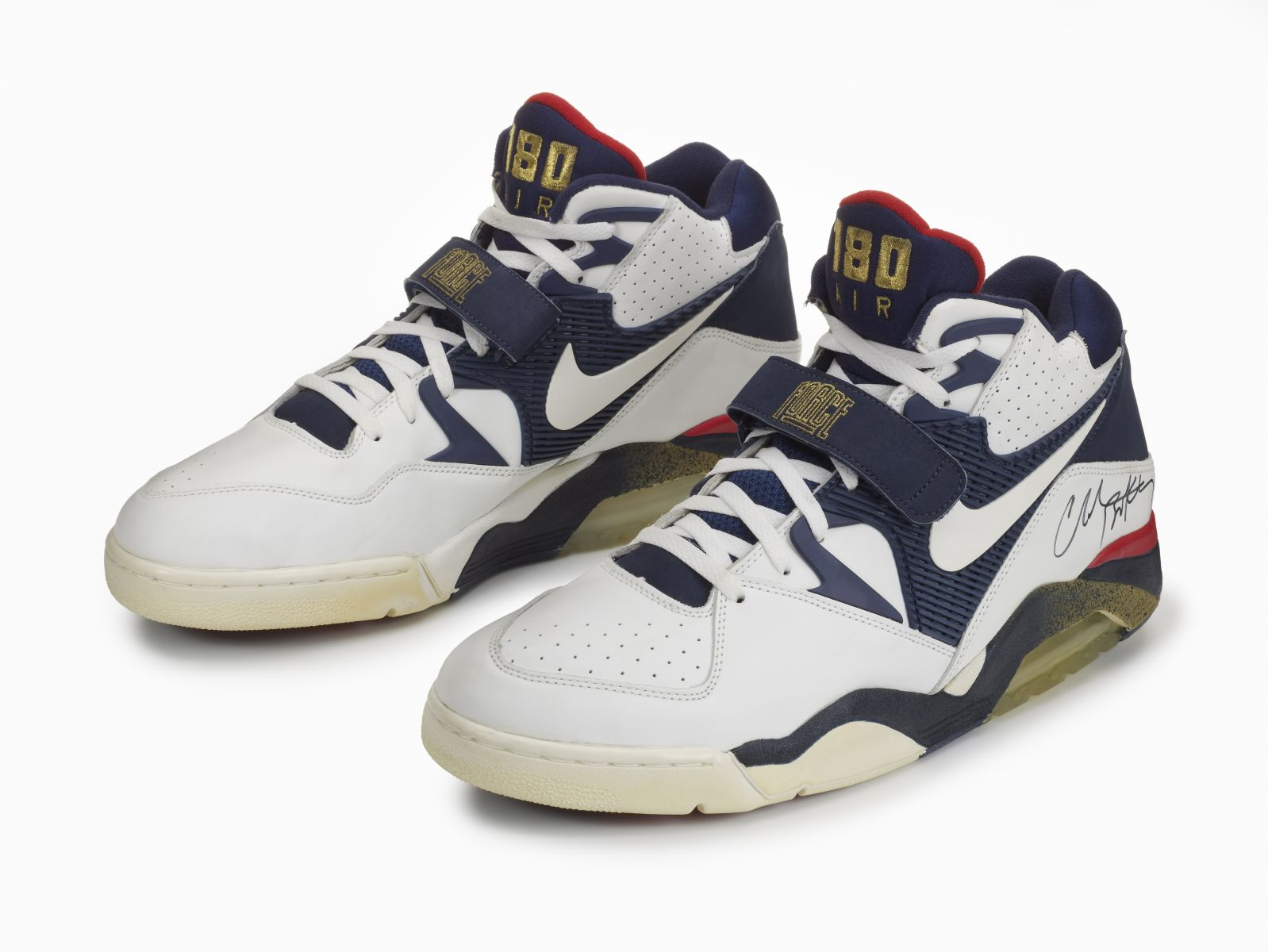 Take a closer look at Sir Charles' Olympic Air Force 180, along with design  sketches by Steve McDonald in the images below.