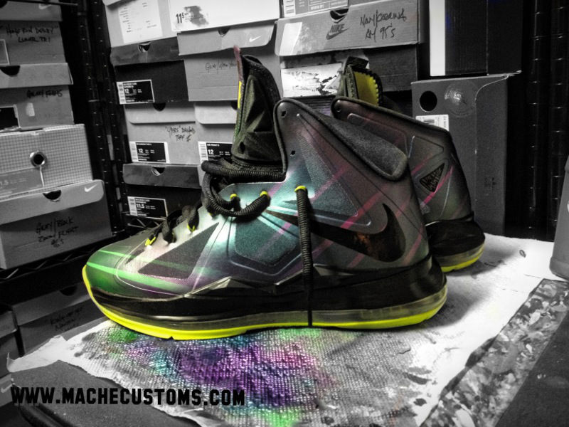 Nike LeBron X Phantom by Mache Custom Kicks (3)