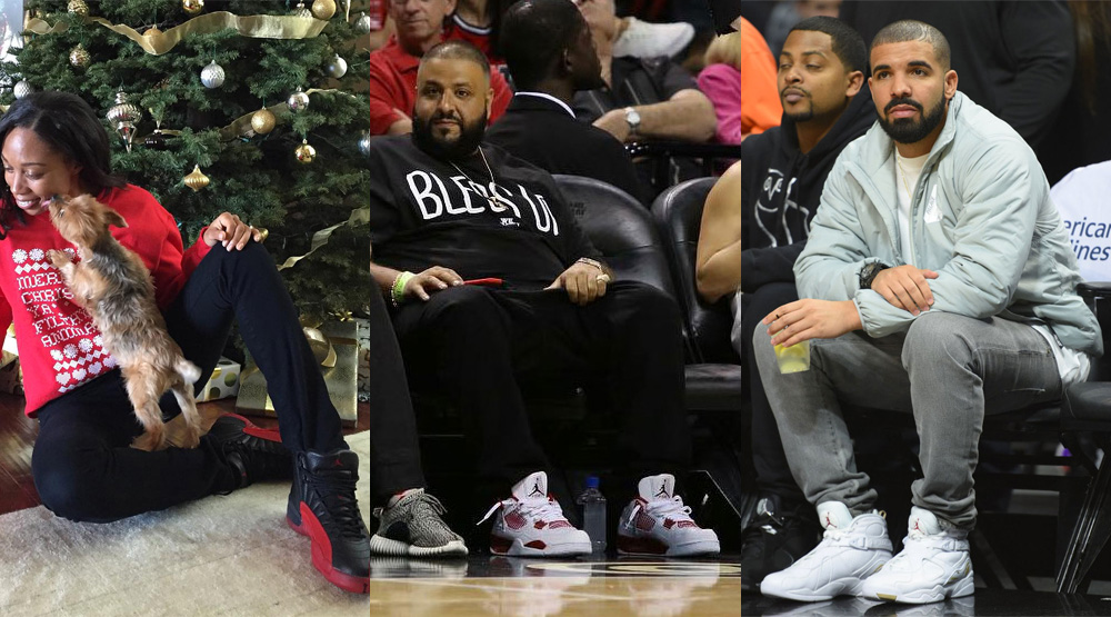 Celebrity  SoleWatch  12.26.15. They don t want DJ Khaled sitting courtside  in Air Jordans. 4c48bcdb9ea3