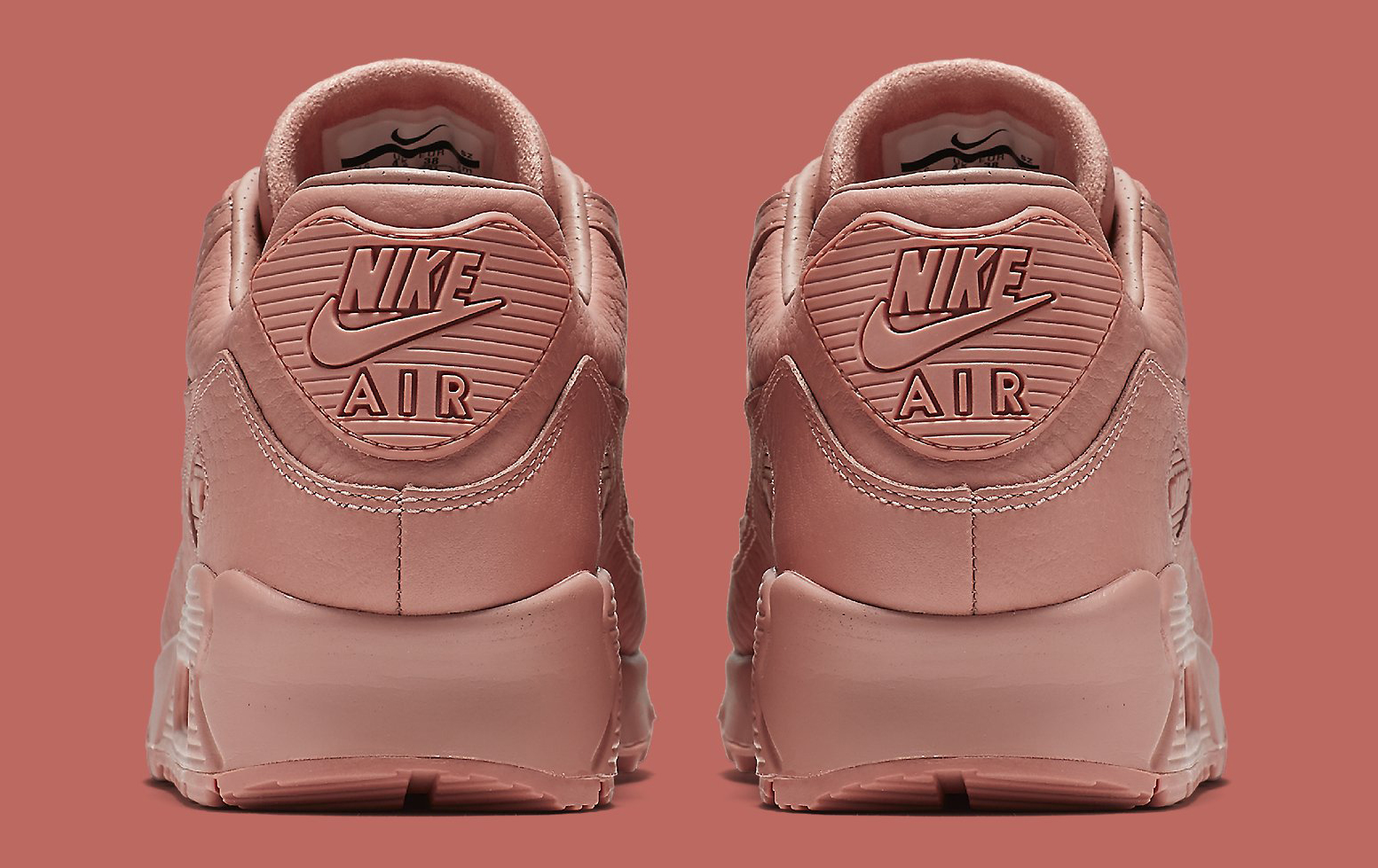 99e130c17013 ... Max 90 Pinnacle Pink 839612-601 Heel Image via Nike ...