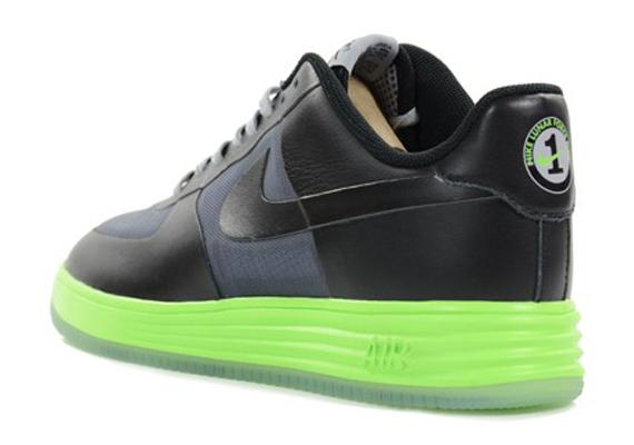 low priced f7afc c1aae ... Nike Lunar Force 1 Low - Black Volt ...