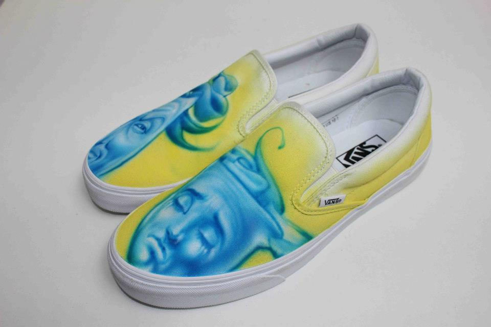 d82b4a29c082cc The Vans Custom Culture contest kicks off with a series of custom shoes  designed by Conan O Brien