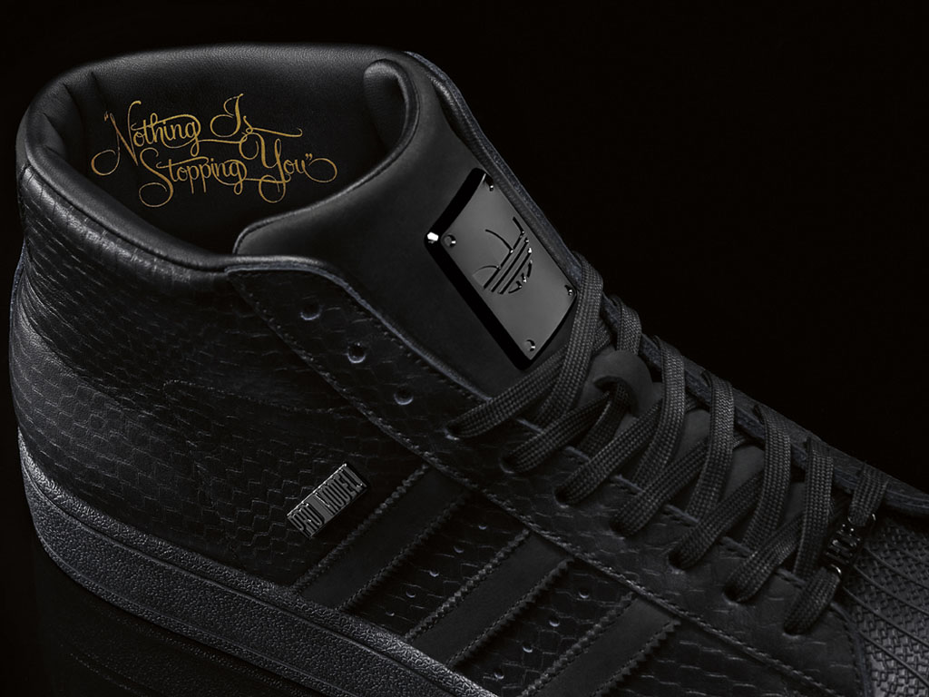 Big Sean x adidas Originals Pro Model II Black (7)